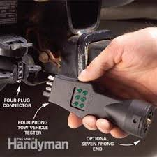 fix bad boat and utility trailer wiring family handyman 4 Pin Trailer Wiring Problems check the vehicle system plug 4 Pin Trailer Wiring Harness Checker