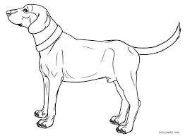 Golden Retriever Coloring Page Husky Dog Coloring Pages Printable