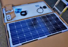upgrading our renogy rv solar system to 400 watts opening the renogy box
