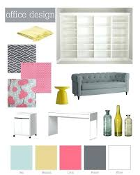 office color palette. Color Schemes For Office A Modern Coral Pink And Pewter Grey Palette With Floral L