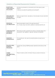 Software Development Requirements Gathering Template Document ...
