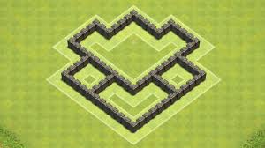 Town Hall 4 Base Design Clash Of Clans Town Hall 4 Defense Coc Th4 Best Hybrid Base Layout Defense Strategy