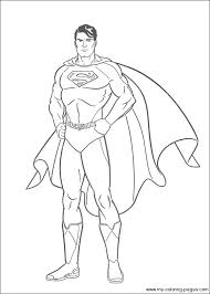 Superman Coloring Pages Kids Printable Free Printable Superman
