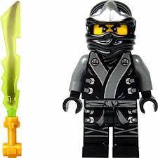 LEGO® Ninjago™ - Kimono Cole & Elemental Sword - The Brick People