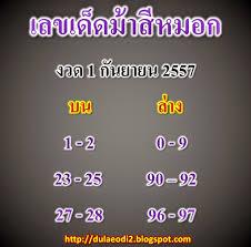 BlogGang.com : : ข่าวดี : ม้าสีหมอก1/9/57 เลขเด็ดม้าสีหมอก แม่นๆ ไม่ควรพลาด