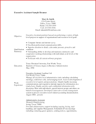 Free Samples Of Administrative Assistant Resumes Camelotarticles Com