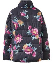 Women's Joules Florian Padded Jacket & Women's Joules Florian Padded Jacket - Black Clematis Adamdwight.com