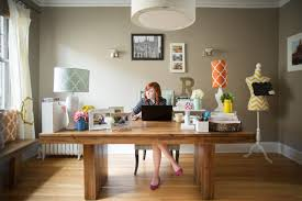 working for home office. Workspace, Home, Office, Working, Wooden, Desk, Woman, Pink Shoes Working For Home Office