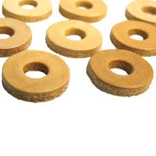 Large Washers Leather Washers 1 Diameter X 1 8 Thick With 3 8 Hole
