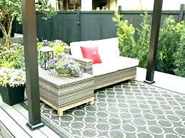 patio area rugs post garden treasures palm leaf patio area rug