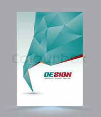 business report cover page template cover page layout template polygon abstract speech style vector