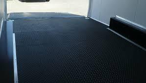 enclosed trailer rubber flooring home flooring ideas cargo trailer rubber flooring