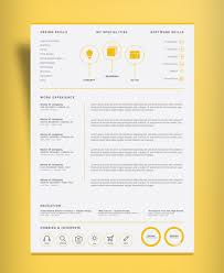 Resume Template Adobe Illustrator Resume Templates Design For Job