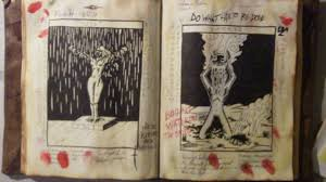 evil dead book october im really hoping to get this done by october so i can do a you tutorial