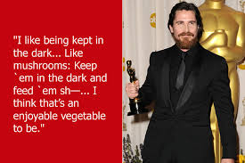 Dumb Christian Quotes Best of Dumb Celebrity Quotes Christian Bale