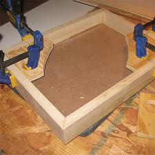 Making a picture frame Miter Make Own Diy Corner Frame Clamps Homedzine Home Dzine Home Diy Make Your Own Frame Clamps