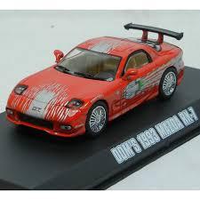 mazda rx7 fast and furious. fast furious modellino auto domu0027s mazda rx7 1993 scala 143 diecast greenlight mazda rx7 fast and furious