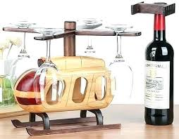 wood wine glass holder stemware rack wooden helicopter wine bottle holder wine glass holder stemware rack