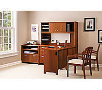 home office furniture staples. bush office envoy collection hansen cherry home furniture staples e