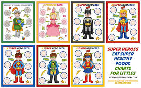 Trying New Foods Chart Healthy Eating Charts For Kids Simply Fresh Designs