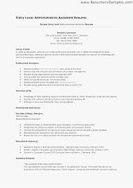 Entry Level Office Assistant Resume Example Entry Level Teacher
