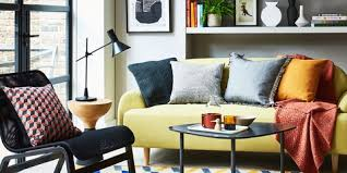 yellow living room furniture. Yellow And Grey Colour Scheme Living Room - Styling By Kiera Buckley-Jones, Photography Furniture T