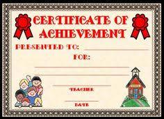 achievement awards for elementary students editable award certificate template classroom ideas pinterest