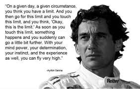 Ayrton Senna Racing Quotes. QuotesGram via Relatably.com