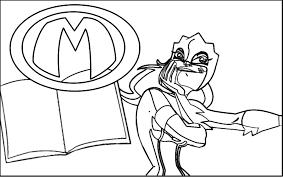 Kleurplaat Mega Mindy Animaatjesnl