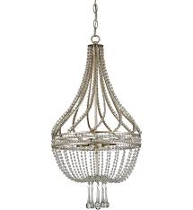 currey company 9634 ingenue 4 light chandelier with chinois antique silver leaf finish undefined