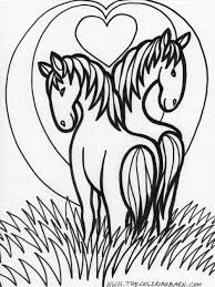 Small Picture Horse Color Pages Coloring Book of Coloring Page