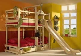 cool bunk beds for boys tree theme