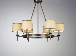 inspiring shades for chandeliers cream color and silver color cast iron buffer medium
