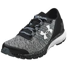 under armour running shoes black and white. under armour charged bandit 2 women\u0027s running shoes black and white