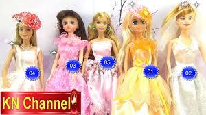 Đồ chơi trẻ em Búp bê Babie Lelia Clara thi hoa hậu tập 9 DollDresses Kids  toys - YouTube