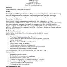 Billing Specialist Job Description Resume Medical Transcription Sample Resumes Template Medical intended 53