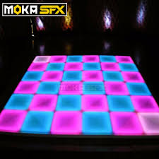 Us 6552 0 32 Square Meters Lot 1m 1m Led Disco Dance Floor Light Make Dmx Led Dance Floor Dancing Floor Light Wedding Decoration In Stage Lighting