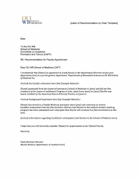 Letter Of Recommendation Template Best Business Template