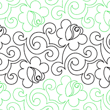 Climbing Rose - Digital - Quilts Complete - Continuous Line ... & Climbing Rose - Digital - Quilts Complete - Continuous Line Quilting  Patterns Adamdwight.com