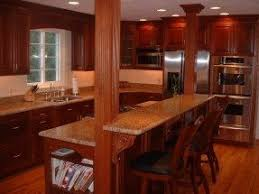 Island With Cook Top And Breakfast Bar   We Then