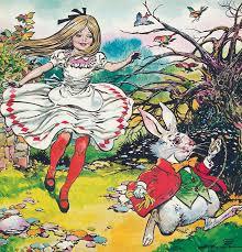 alice in wonderland painting alice in wonderland by blasco