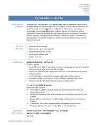 tutor resume samples templates and job descriptions if you the right way to highlight your experience and choose a strong template that makes it easy to see your best information you ll have a resume
