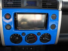 so i don t like the aftermarket radio install kits toyota fj they ended up covering up the big gaps left when installing a double din radio