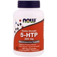 <b>5</b>-<b>HTP</b> (Гидрокситриптофан), <b>Двойная Сила</b>, <b>200</b> мг, Now Foods ...
