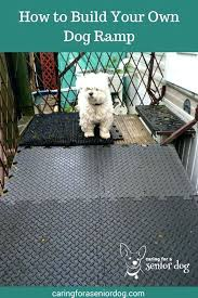 diy dog ramp how to build your own life s dogs for deck stairs folding plans