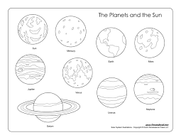 Printable Solar System Coloring Pages At Getdrawingscom Free For