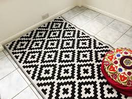 black and white indoor outdoor rug good rug runners on modern area rugs