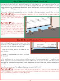 TID372R2 GARAGE DOOR OPENER W/ RF LIGHT KIT User Manual 03 ...