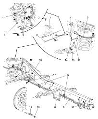 2005 dodge durango lines hoses rear and chassis diagram 00i92110