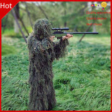 3D <b>Ghillie</b> Suit Sniper Train Leaf Jungle Forest Wood <b>Camouflage</b> ...